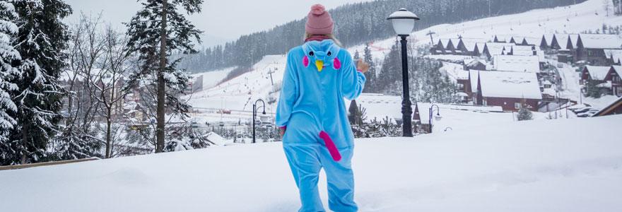 Kigurumi ski